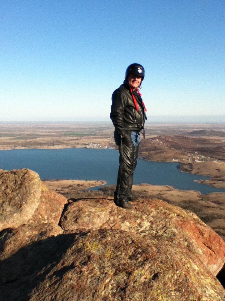 Me on Mt Scott Oklahoma..Check out DarrellDonaldson.com