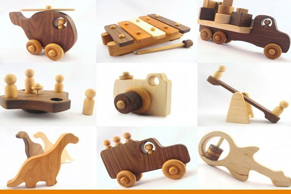 Rustic Wood Toys Crafts Easy To Make And Sell Handmade