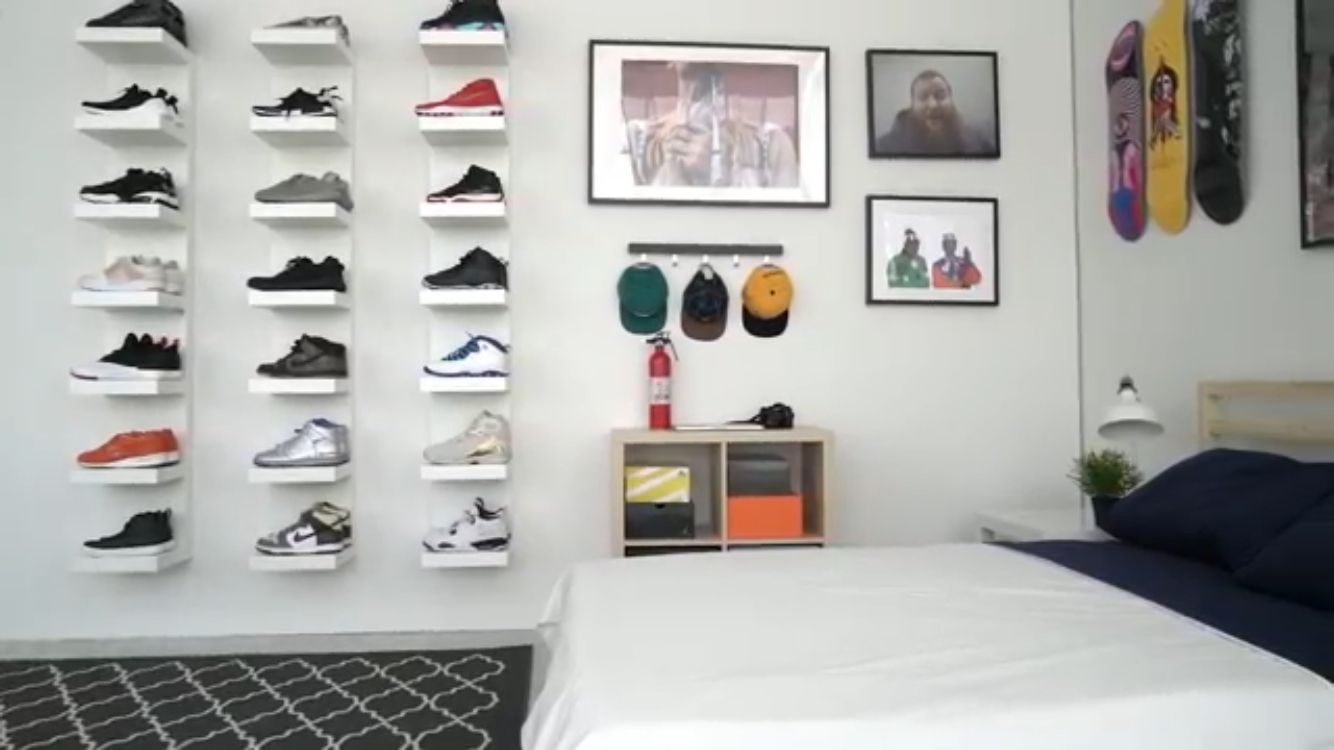 Trainer storage ideas | Sneaker storage ideas … | shoe storage | Room,…