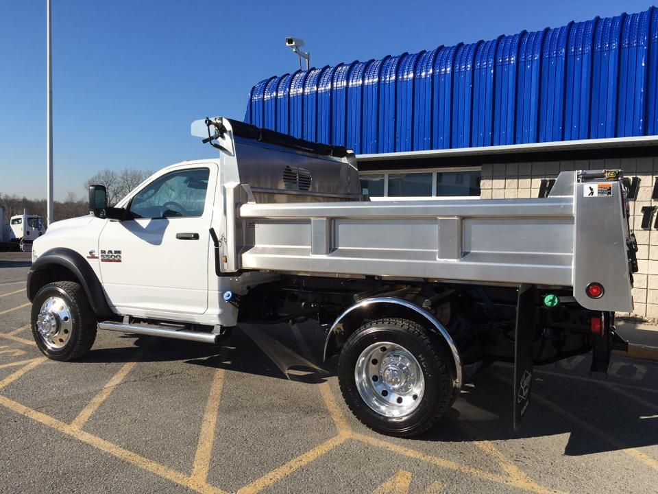 Aluminum Truck Fenders : This ram looks great with a rugby aluminum dump body