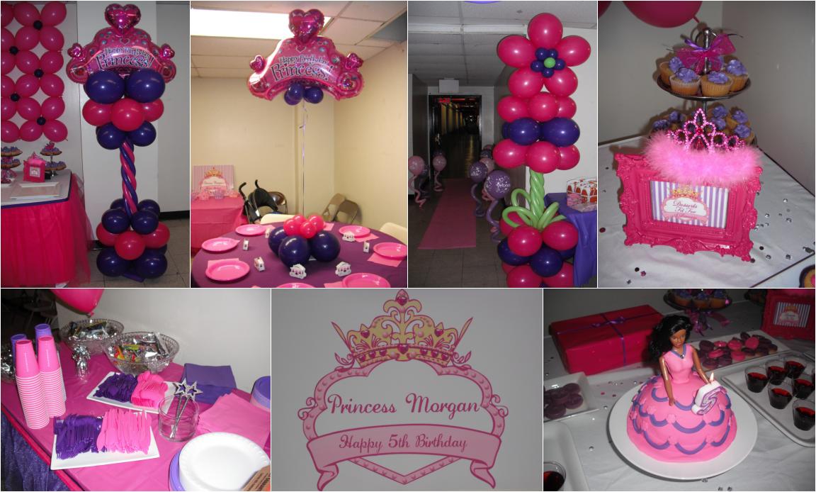 happy birthday princess party time santa and