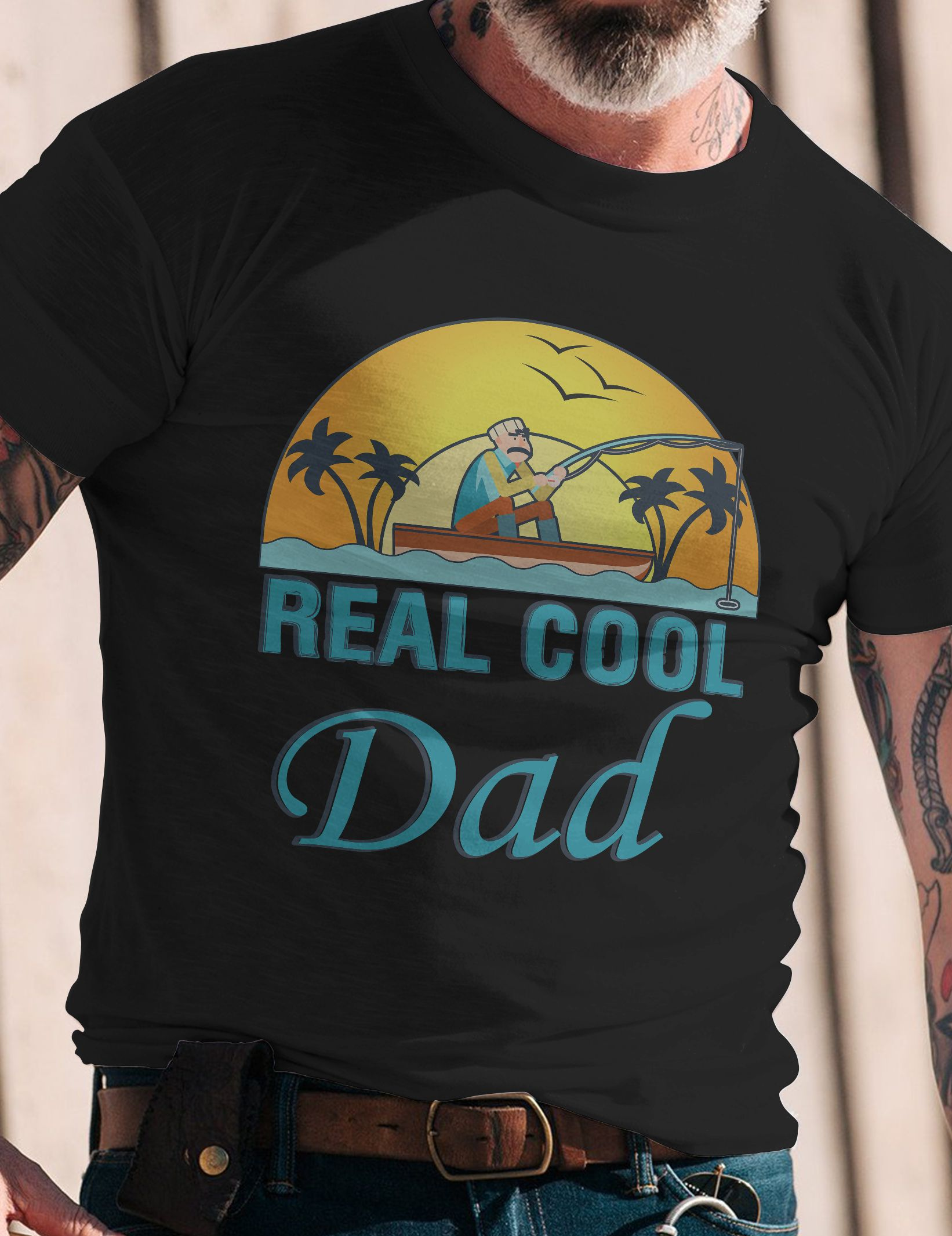 Reel Cool Dad TShirt Makes a great gift for Father\'s Day, Birthday ...
