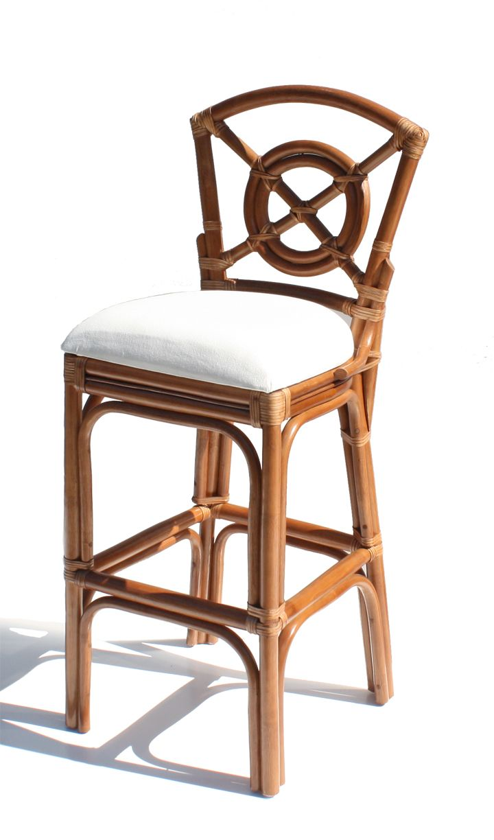 Rattan Bar Stools? | Crazy About Chairs | Pinterest