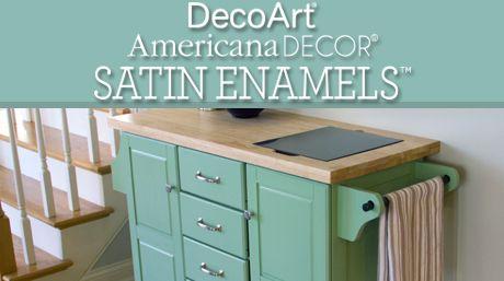 Learn About Americana Decor Satin Enamels   Americana ...