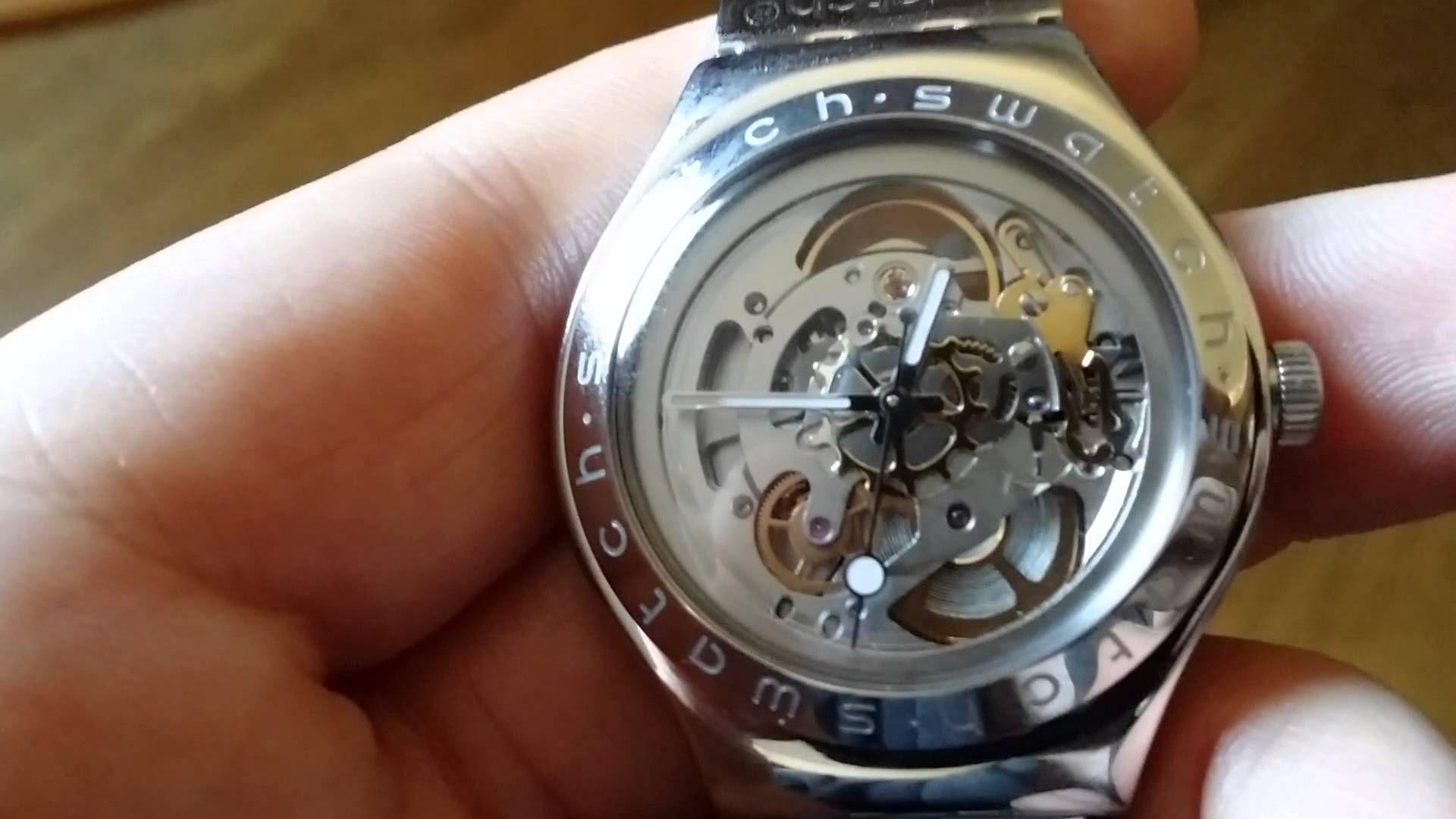 Swatch Irony Swiss 21 Jewel Automatic Movement Watches