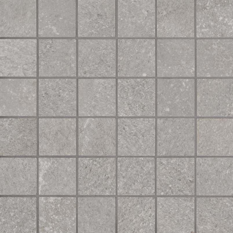 Nbrigla2x2 Brixstyle Glacier 2x2 Mosaic Grey Porcelain Small