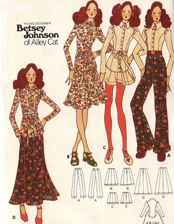 Butterick 6535 A | Betsey LOVE | Pinterest | Vintage schnittmuster ...