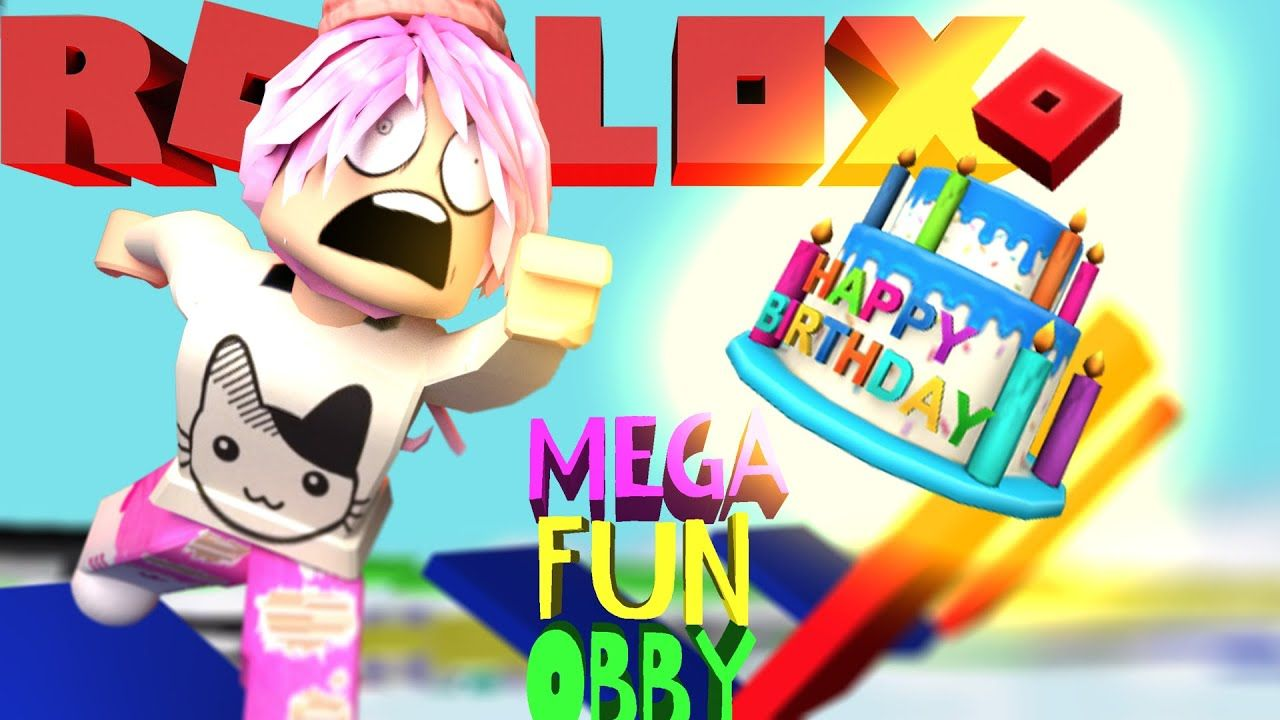 lol ad try my obby roblox Roblox 12th Birthday Special With Mega Fun Obby Part 2 12th Birthday Roblox Birthday