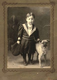 Pug History And Vintage Photographs Dogs And Kids Vintage Dog