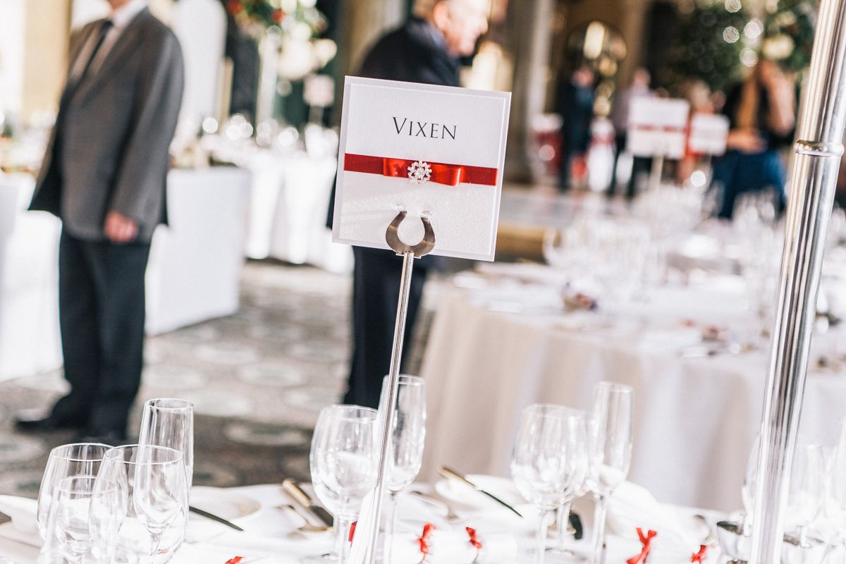 Wedding decoration ideas red and white  Winter Wedding Table Decoration Ideas  Red White Silver  Ali