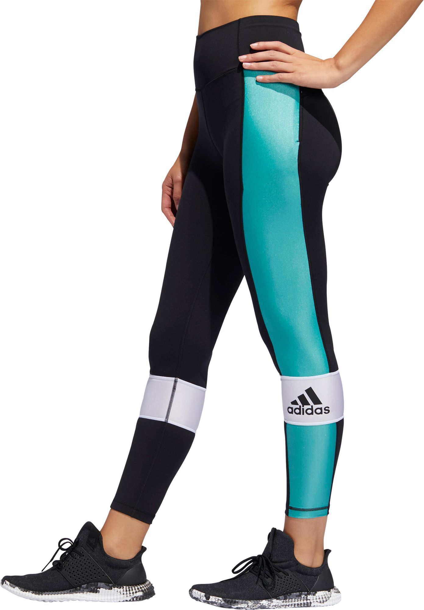 27cfc173034 adidas Women s Believe This High Rise Sport Block 7 8 Tights in 2019 ...