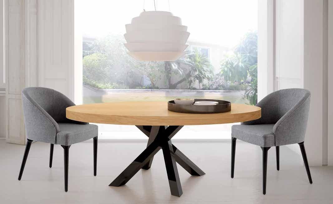 Mesa comedor ovalada extensible - RDD0001 | Mesas | Pinterest ...