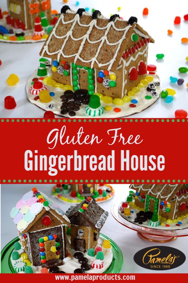 Graham Cracker Gingerbread Houses Recipe Gluten Free Gingerbread House Gluten Free Gingerbread Gluten Free Gingerbread House Kit