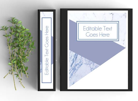 printable binder spine inserts