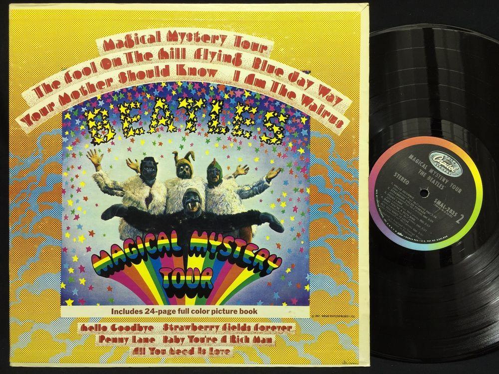 Magical Mystery Tour Vinyl Mono | Myvacationplan org