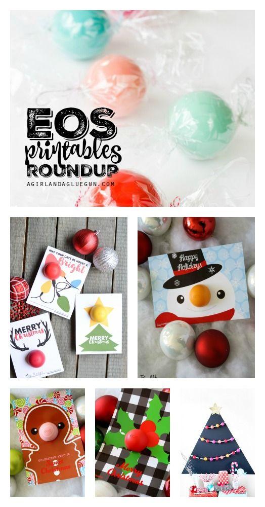 EOS Printables Gift Roundup   Pinterest   Geschenksideen ...
