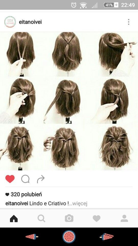 Short Hair Style Tutorial Hair Styles Short Hair Updo Braids For Short Hair