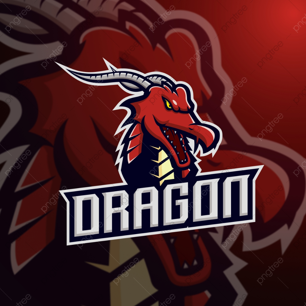 Red Dragon Mascot For Esport Gaming Vector Illustration Mascot Logo Esport Png And Vector With Transparent Background For Free Download Vector Illustration Mascot Red Dragon