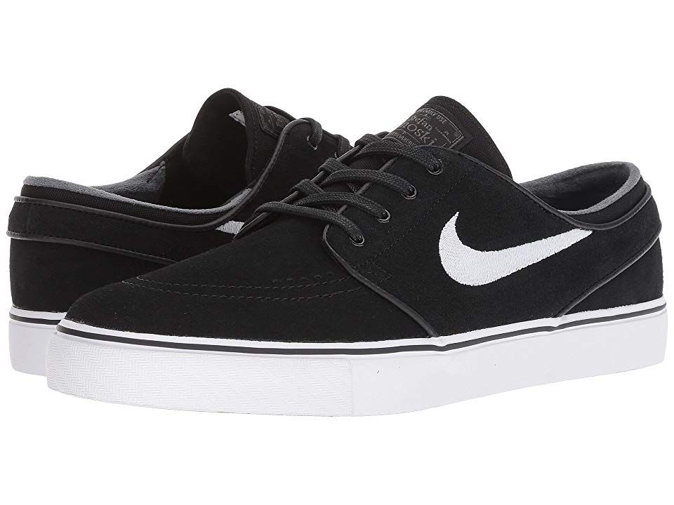 Nike Sb Zoom Stefan Janoski Suede Men S Skate Shoes Black White Thunder Grey Gum Light Brown Mens Skate Shoes Nike Nike Sb