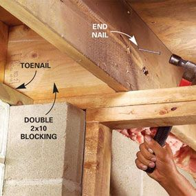 how to take down a load bearing wall