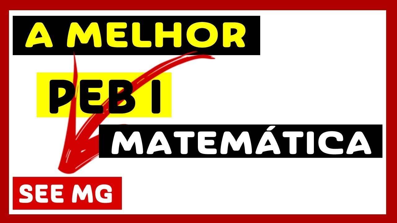 Apostila Concurso See Mg Professor De Matematica Peb 2018 Pdf