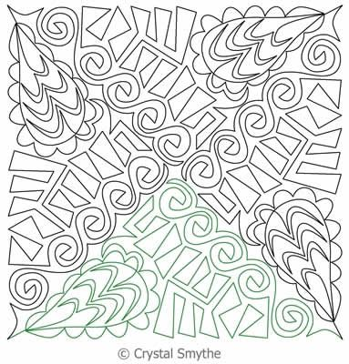 Zentriangle 4 Free Motion Quilting