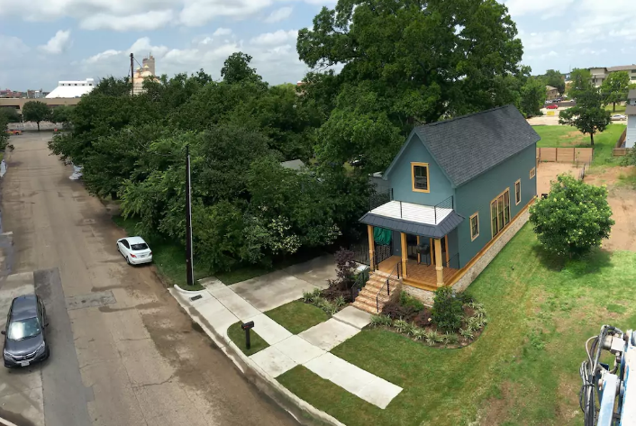 You Can Spend the Night in the Shotgun House from 'Fixer Upper' is part of Home Accents Fixer Upper - If you're headed to Waco this summer, you can stay in style at Chip and Joanna Gaines' famous tiny house from  Fixer Upper