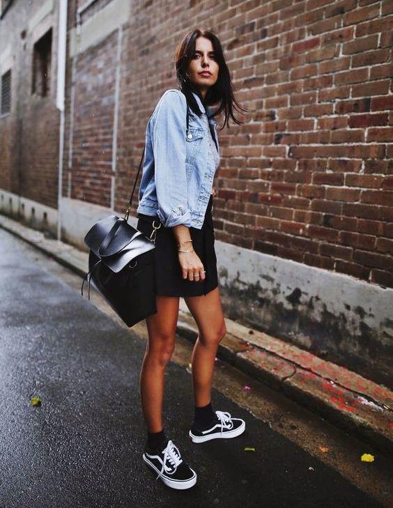 6ed1fc9173c Como usar tênis Vans Old School preto. Veja mais no Blog!
