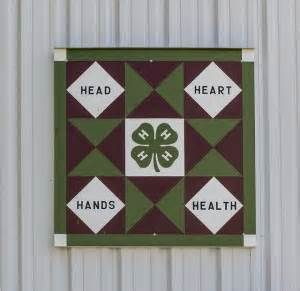 barn quilt mural 15 4 h star 4 h programs | 4-H Barn Quilts ... : quilt design programs - Adamdwight.com