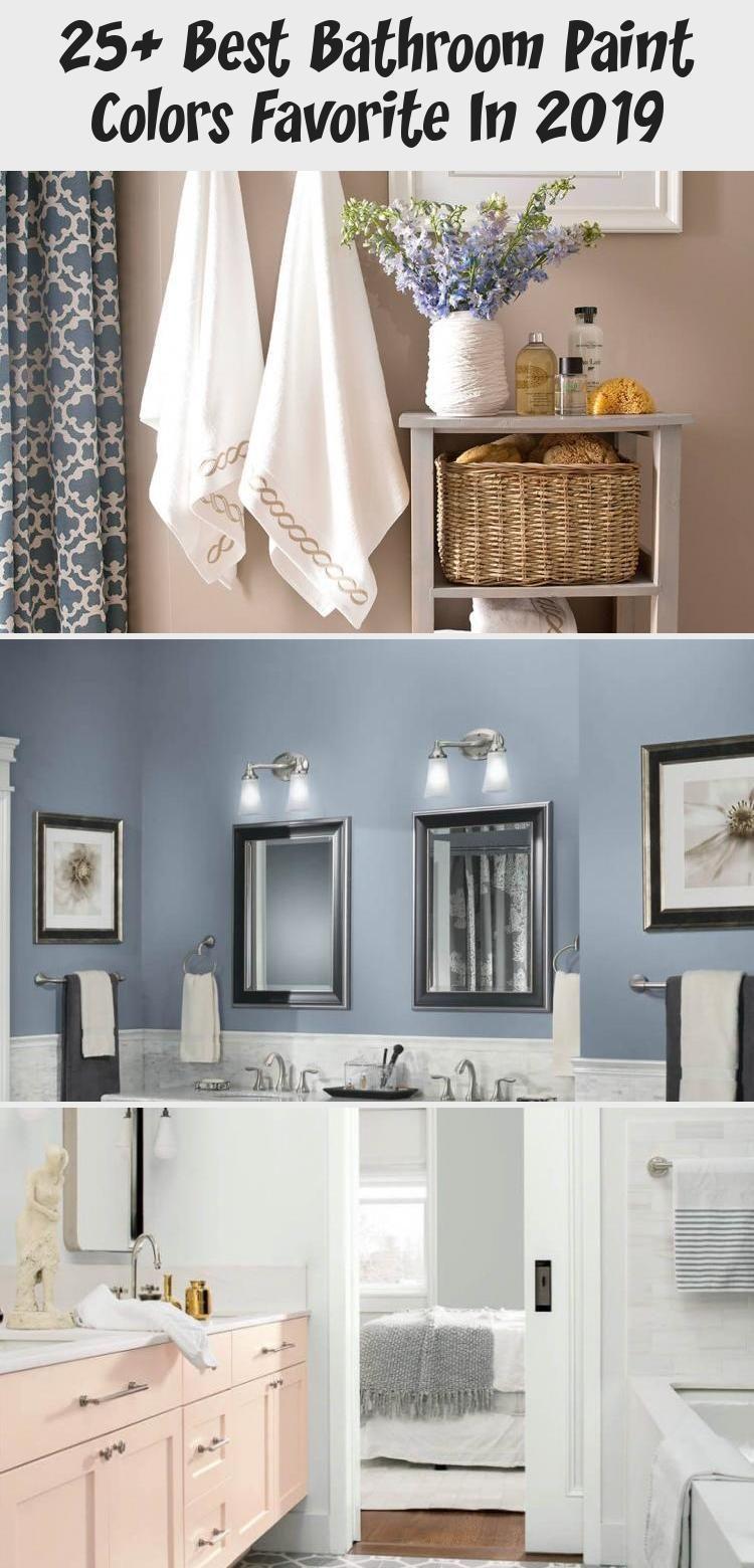 25+ Best Bathroom Paint Colors Favorite In 2019 – home design decor#bathroom #co… Bathroom