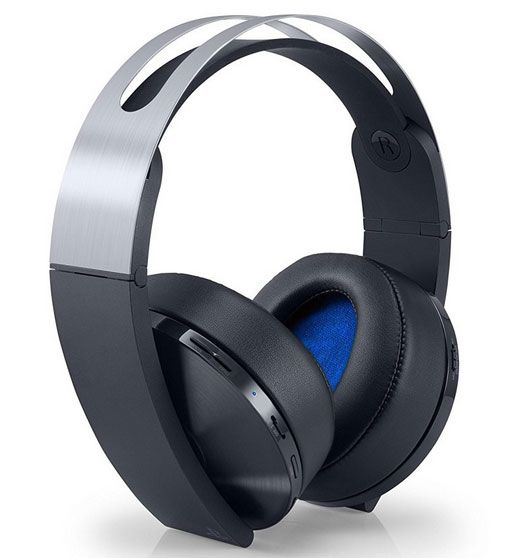 Sony Platinum Wireless Headset For Ps4 Psvr With 3d Audio Wireless Gaming Headset Wireless Headset Gaming Headset
