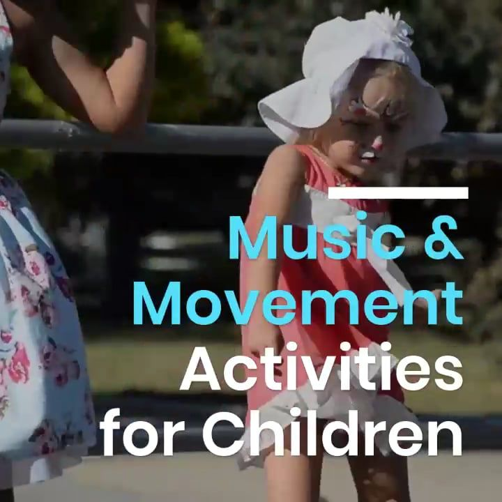 Photo of Music and Movement Activity Ideas for Young Children