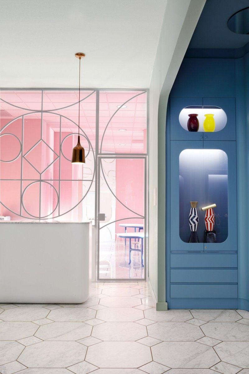Groninger family lab 01 retail design pinterest for Innenarchitektur 50er