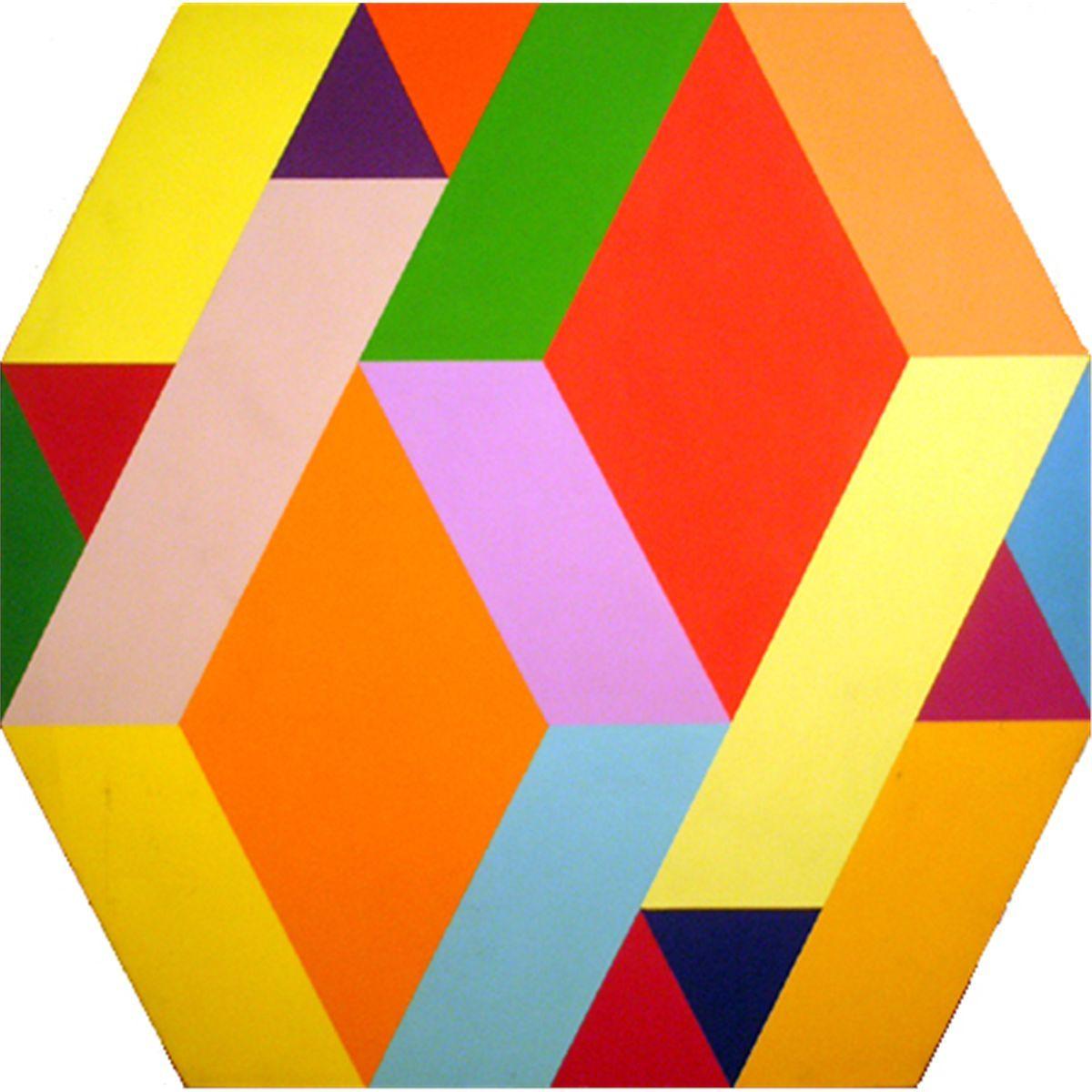 Arthur Boden - Untitled 2 .1970. Acrylic Canvas 121