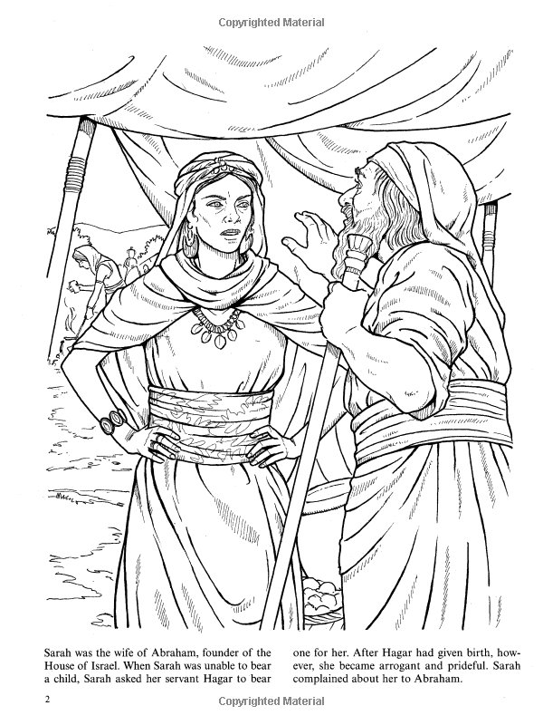 Women of the Bible (Dover Classic Stories Coloring Book