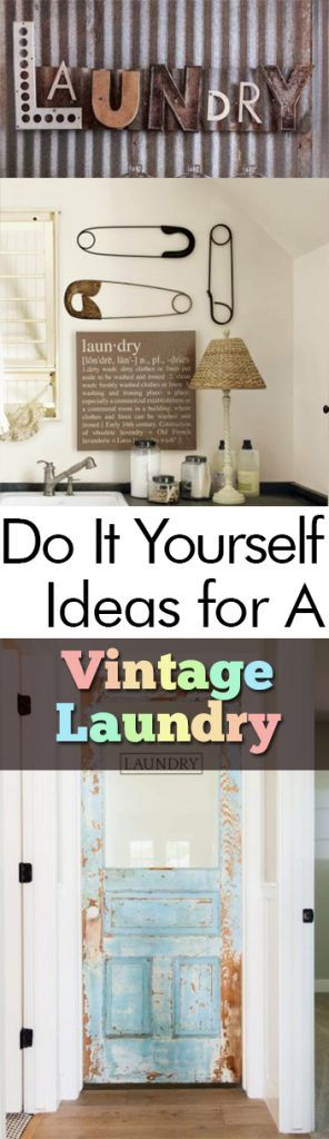 Do it yourself ideas for a vintage laundry room lavaderos solutioingenieria Images