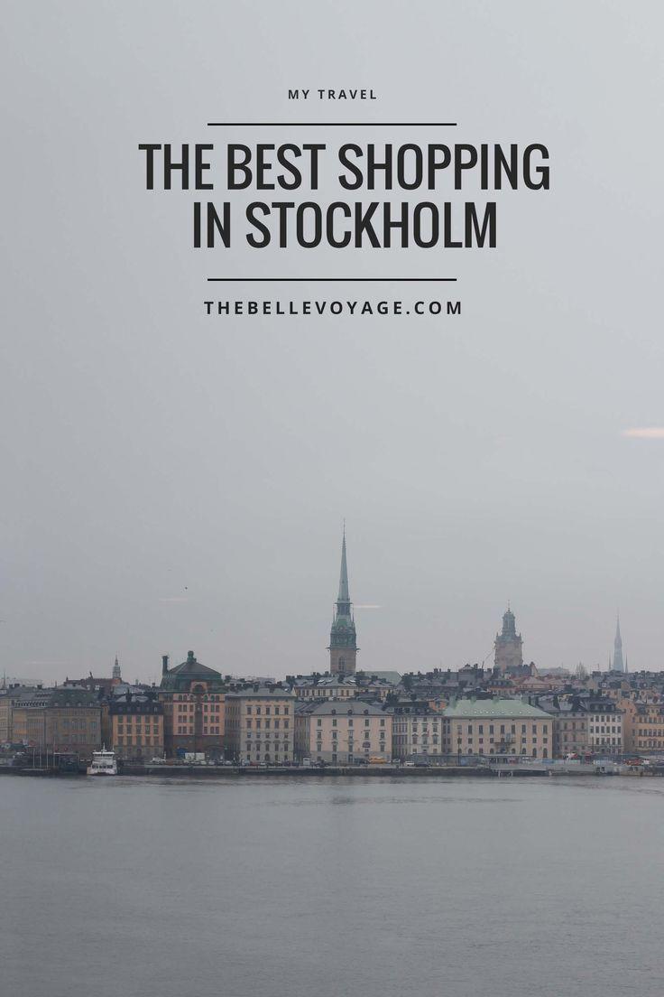 shopping tips stockholm