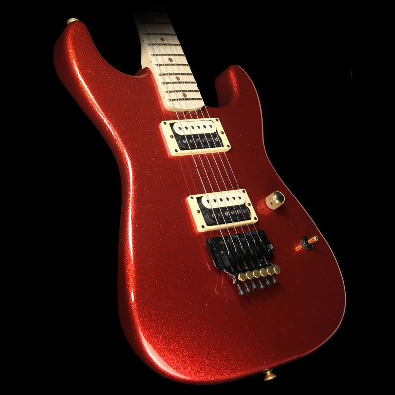 Charvel Custom Shop San Dimas Electric Guitar Red Sparkle