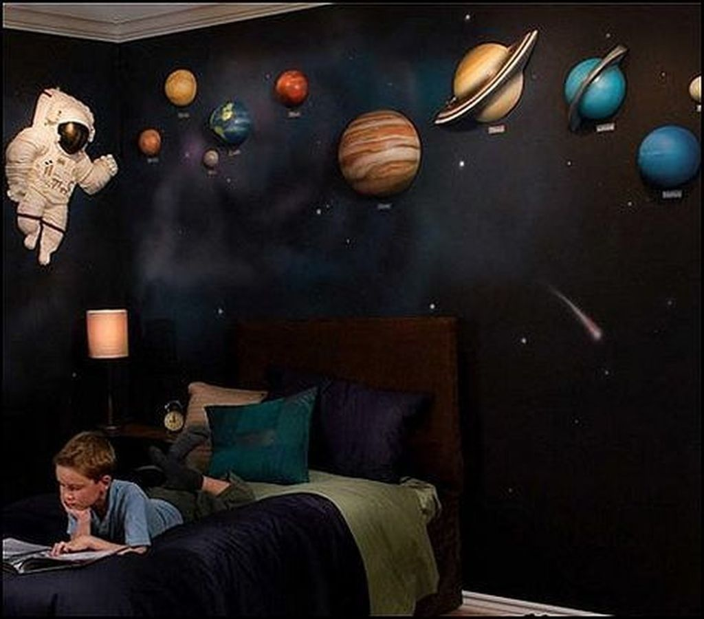 20 Inspiring Outer Space Themed Bedroom Ideas For Boys Outer