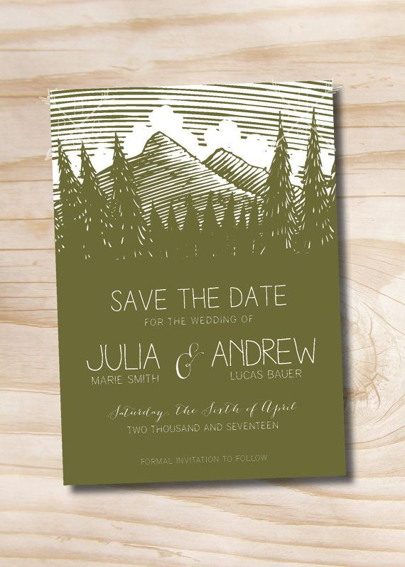this listing includes customization of your save the date 100