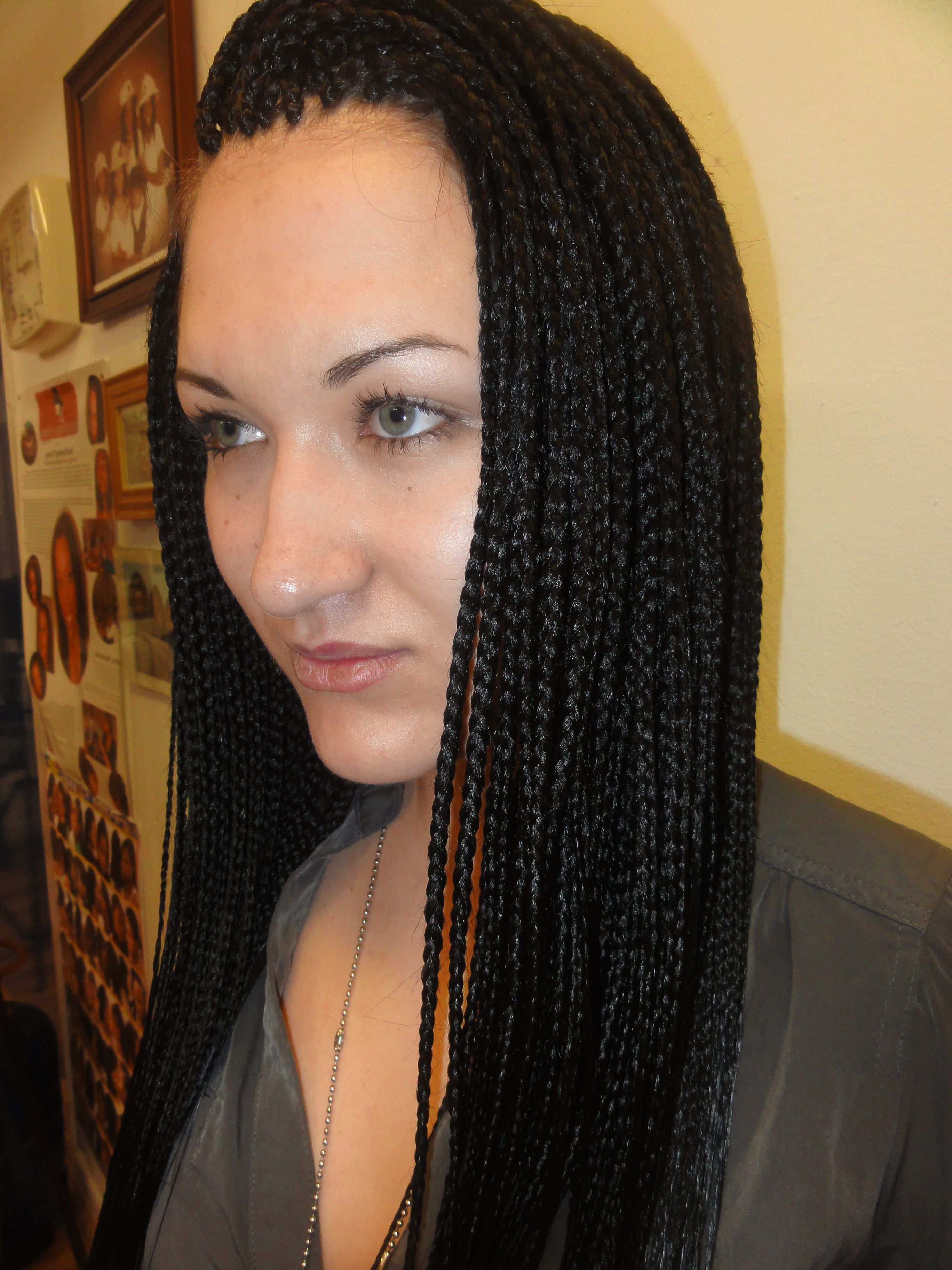 Long Box Braid Hairstyle 2015 the most in hairstyle for year 2015