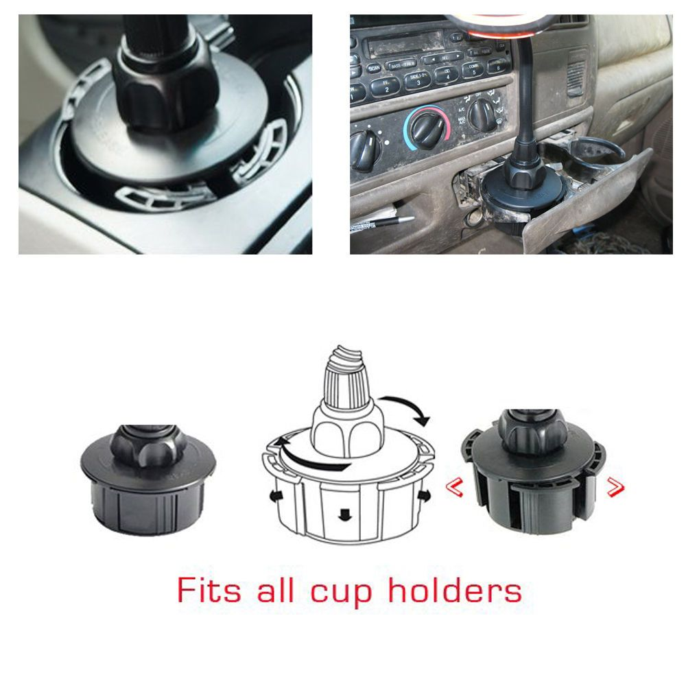 Vehicle cup holder car mount for garmin gps alpha 100 50 and astro 220 320 430