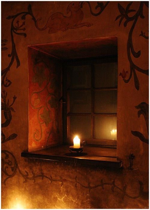 A Candle Left Lit ~ Upon The Windowsill ~ Lights The Way Back ~ To A
