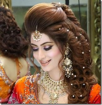 Kashee Walima Beauty Parlor Bridal Makeup Hairstyle For Wedding Day Hair Styles