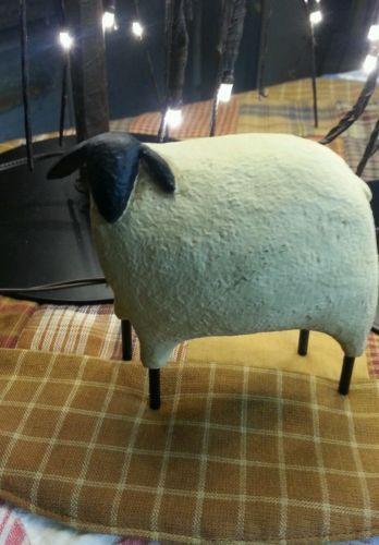 PrimitiveBlack White Sheep Home Decor4