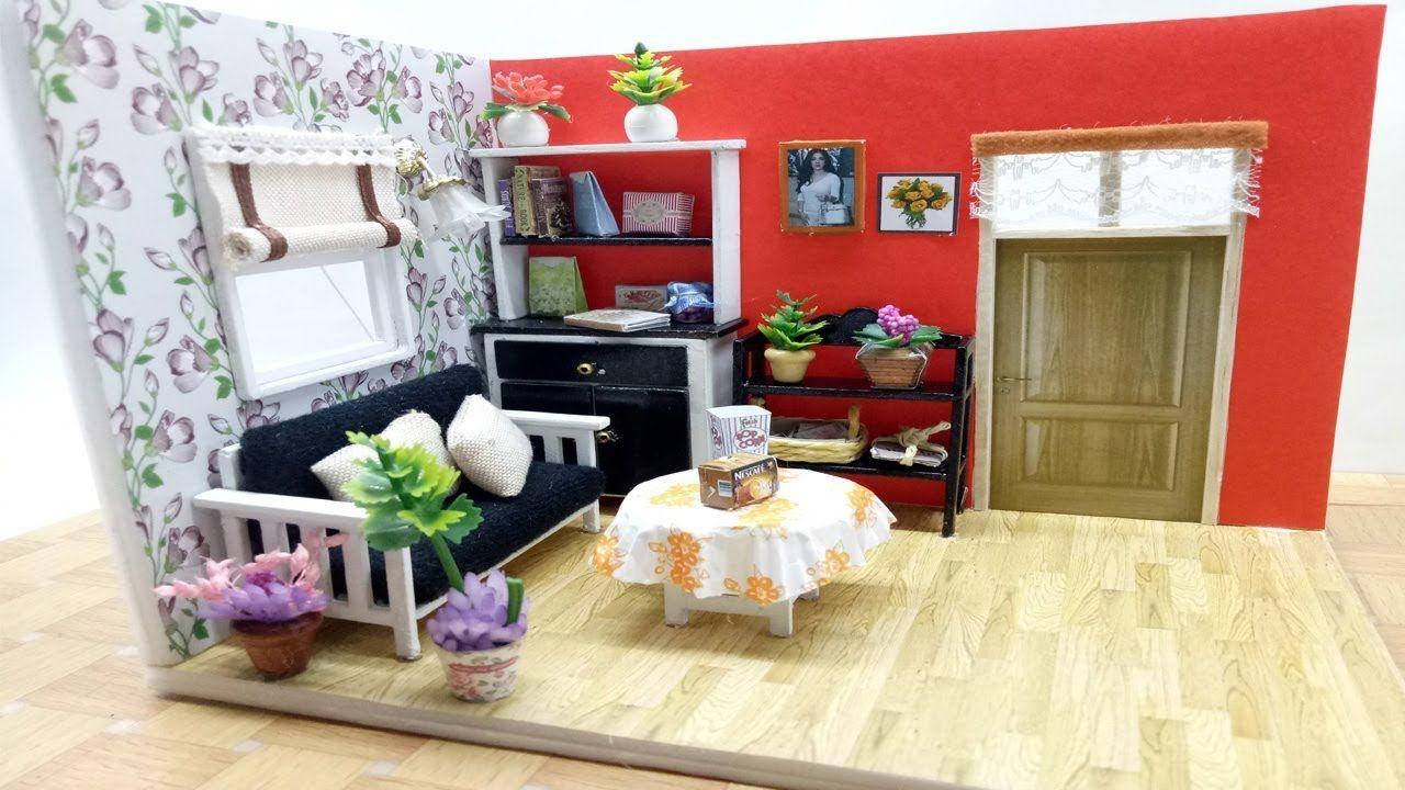 Cara Membuat Sendiri Miniatur Rumah sederhana Mainan
