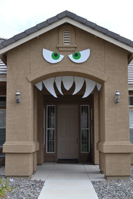 Clever, Cute, U0026 (Not Too) Scary: DIY Halloween Decorations That Wonu0027t  Frighten Kiddos