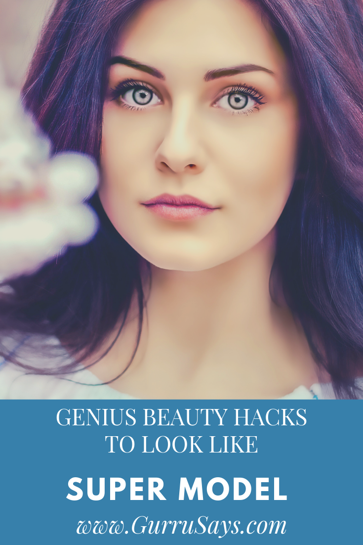 9 Everyday Beauty Hacks to Look Beautiful With No Makeup