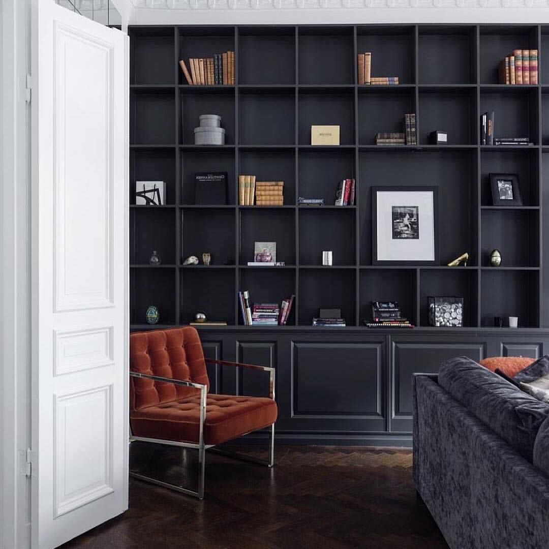 Pin by orla wood on study in interior home bookshelves