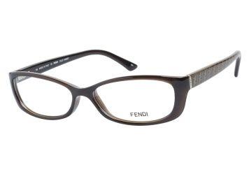 bf5a10d789b7 Fendi 881 207 Brown Four Eyes
